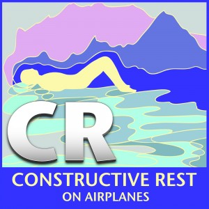 Constructive Rest On Airplanes album cover